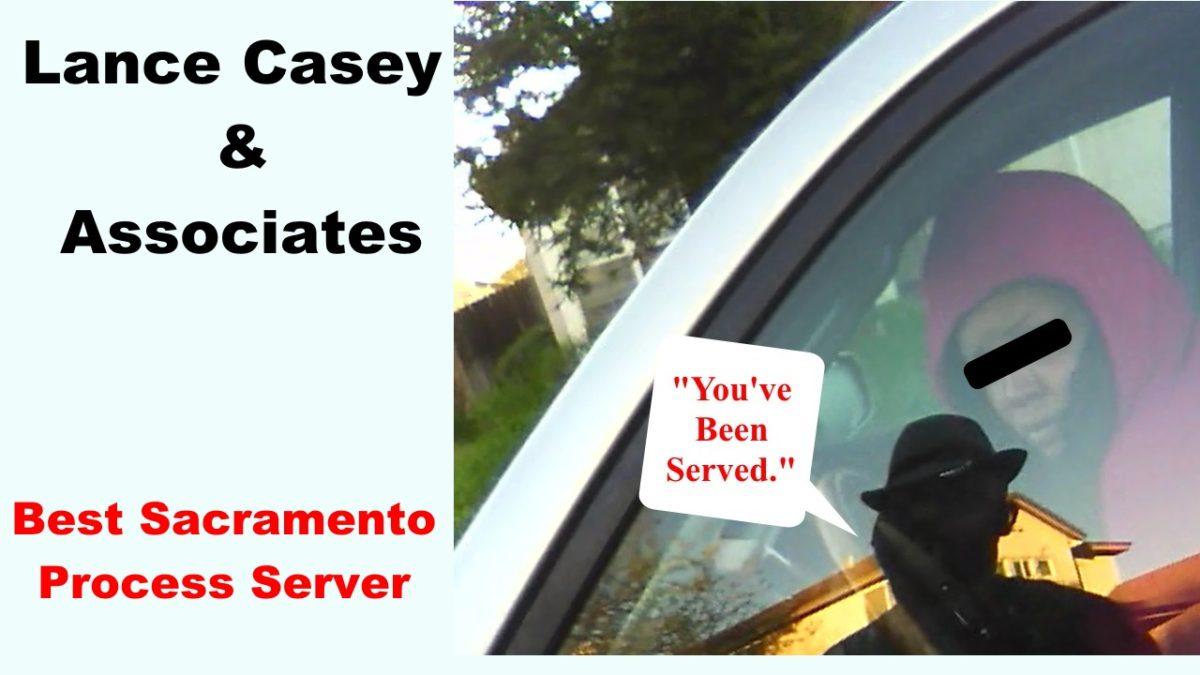 Process Server Sacramento CA 95822