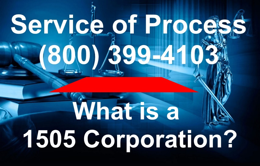 What is a 1505 Corporation
