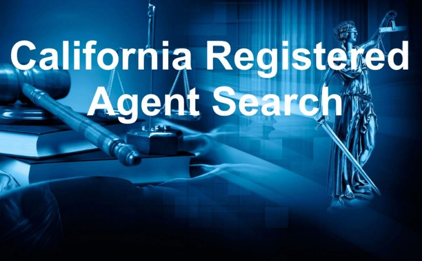 California Registered Agent Search