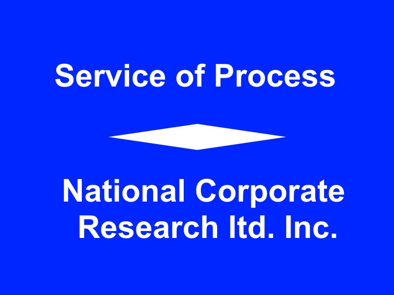 National Corporate Research ltd. Inc1