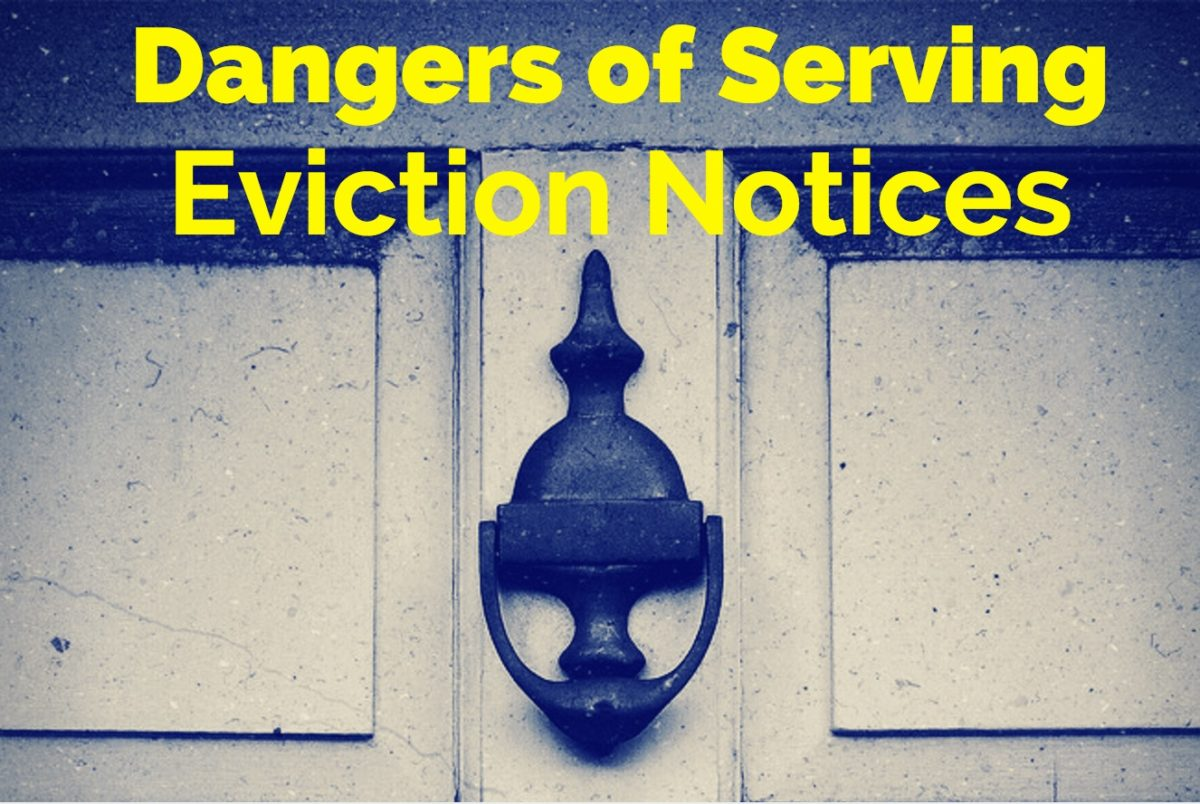 Why Process Servers Are Best For Serving Eviction Notices
