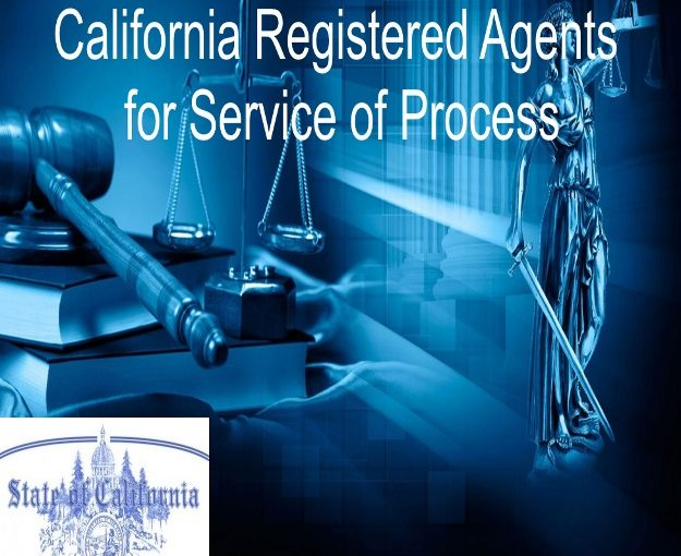 california registered agents for service of process