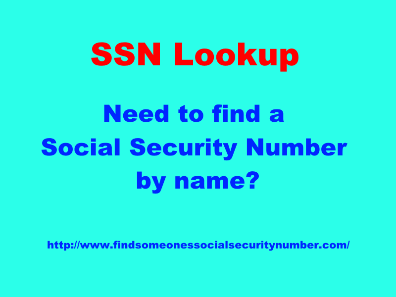 ssn lookup