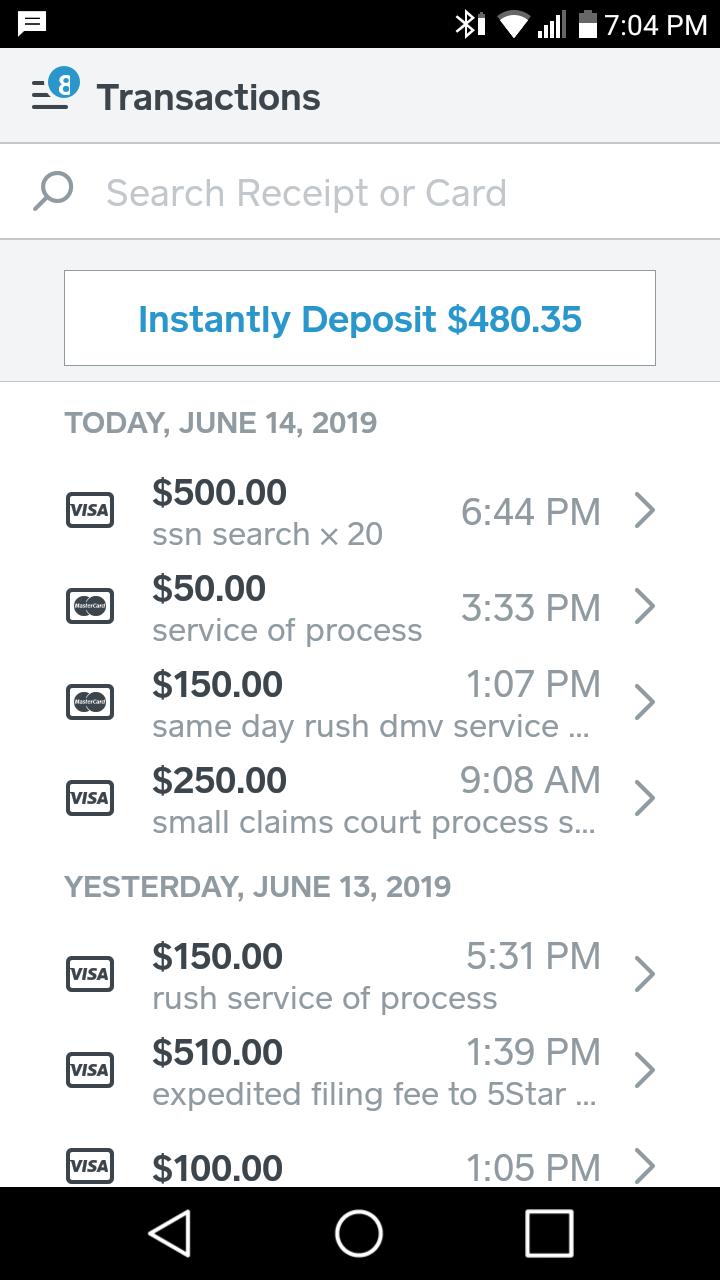 process server salary